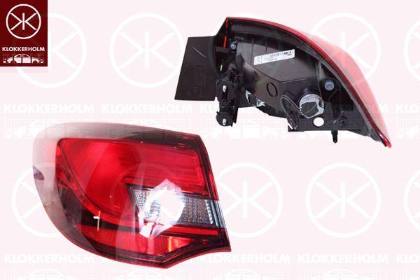 Opel Astra Sağ Dış Stop Lambası TN:AJ4 NB F69